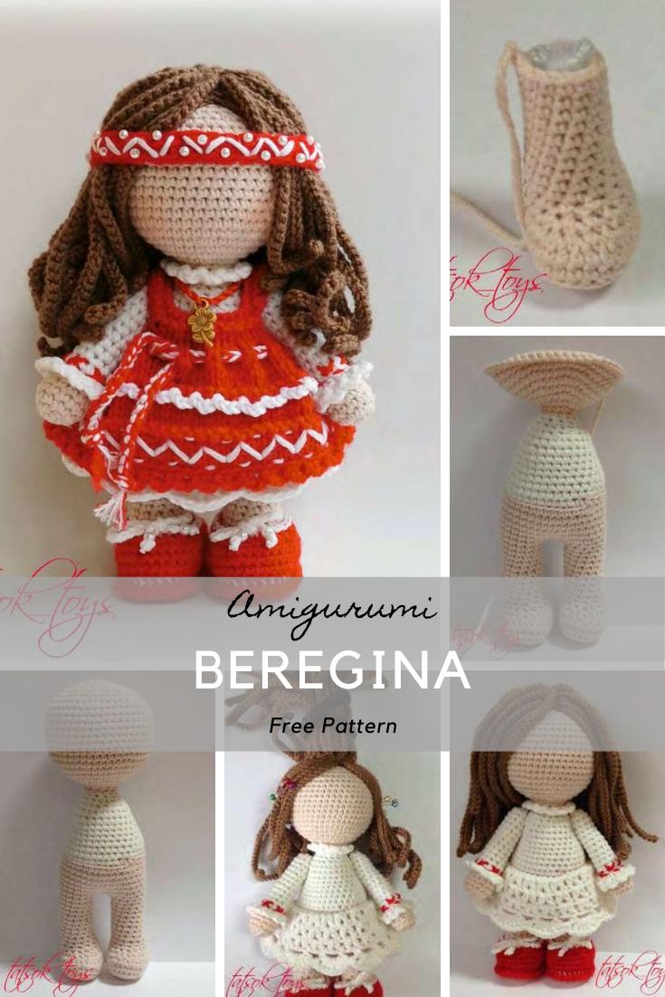 Amigurumi Beregina Crochet Pattern