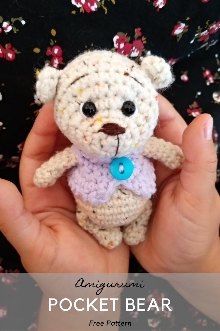 Amigurumi Pocket Bear Crochet Pattern