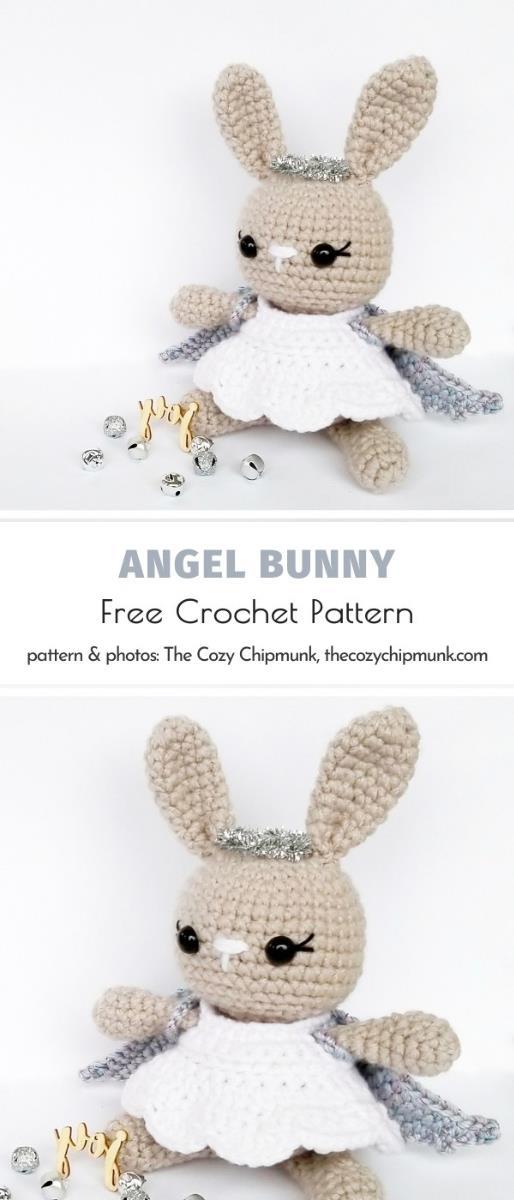 Angel Bunny Free Crochet Pattern