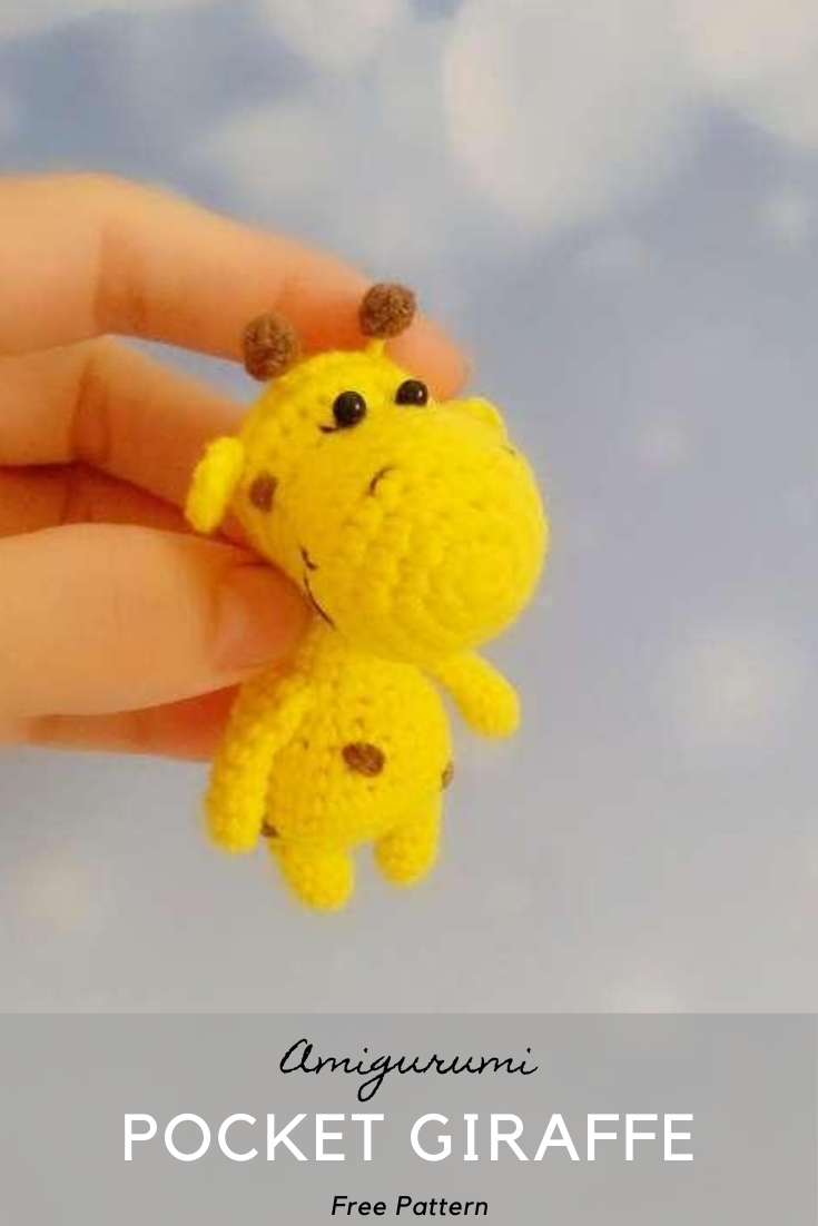 Pocket Giraffe Amigurumi Master Class
