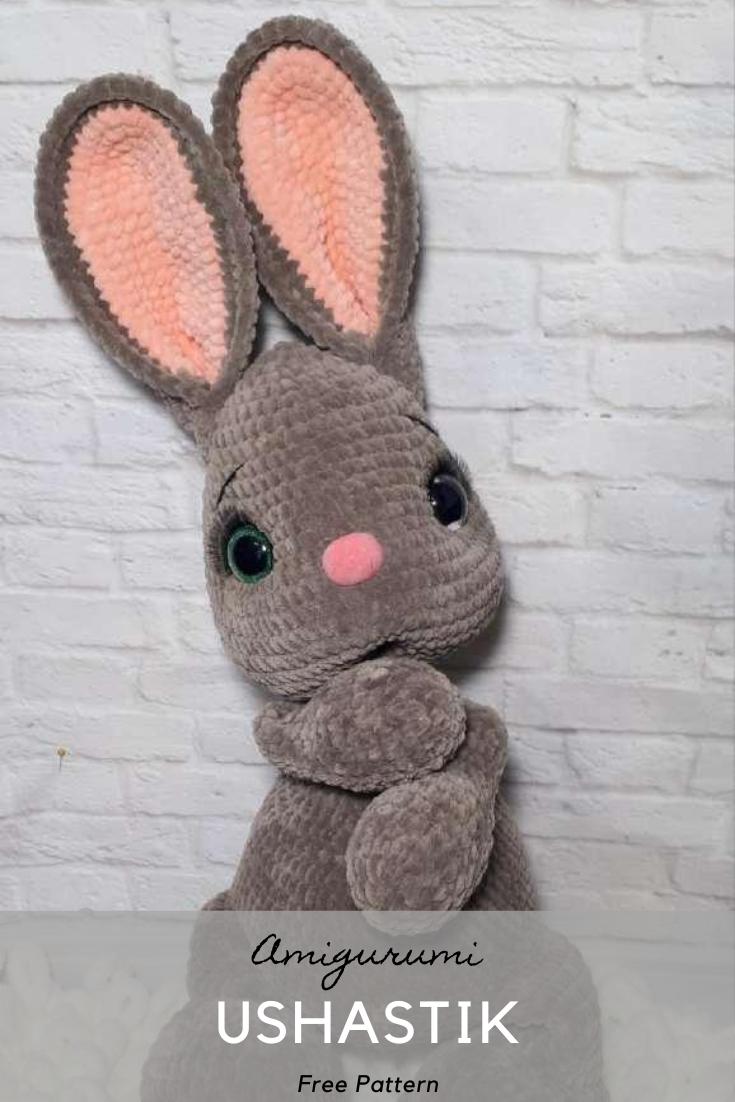 Ushastik Amigurumi Crochet Pattern