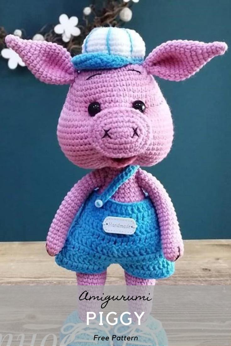 Amigurumi Piggy Crochet Pattern