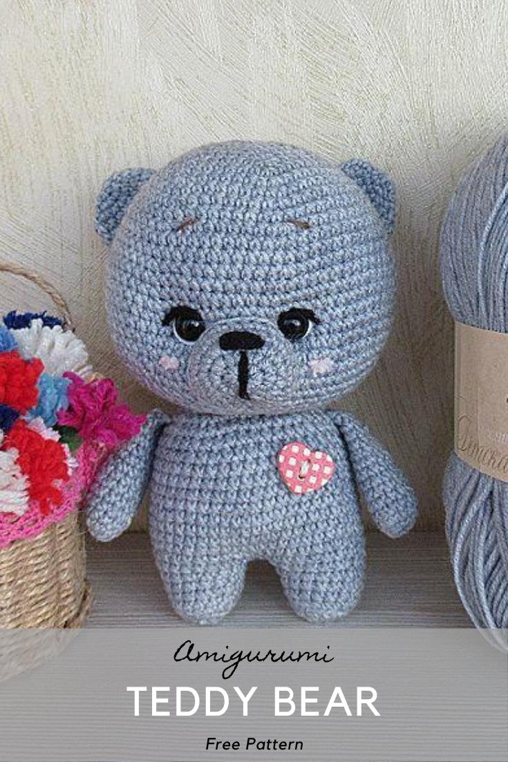 Amigurumi Teddy Bear Crochet Pattern