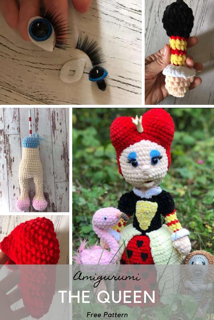 Amigurumi The Queen Crochet Pattern