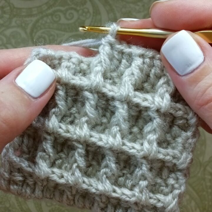 How To Knit Waffle Pattern