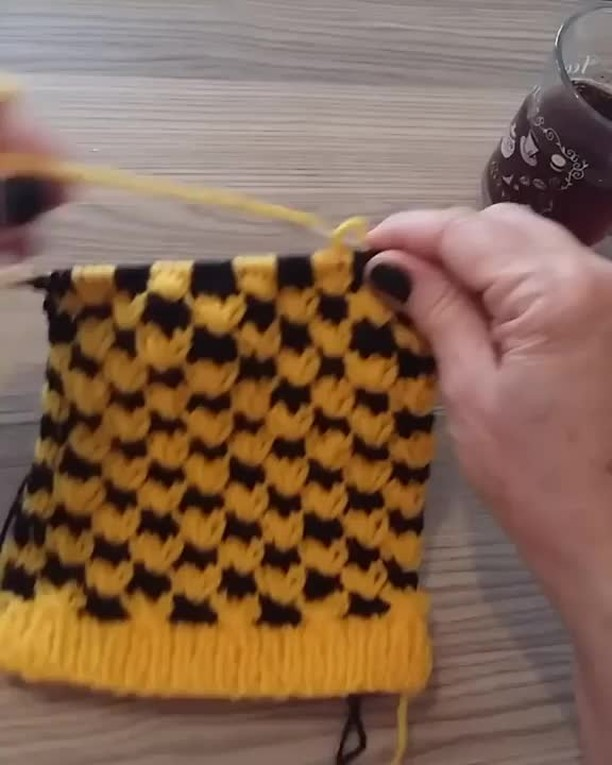 Knitting Technique Of The Day!⠀